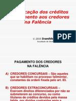 Classificação+dos+créditos+e+pagamento+na+falência