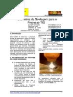 Parâmetros De Soldagem Para Processo TIG