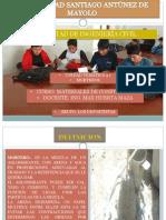 UNIVERSIDAD SANTIAGO ANTÚNEZ DE