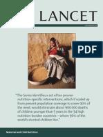 Materna Child Nutrition