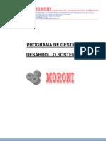 2. Programa de Gestion de Desarrollo Sostenible