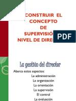 Construir concepto de Supervisión