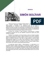 Simon Bolivar Biografia