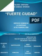 2008 02 24 La Santidad