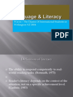 Language & Literacy