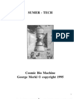 Sumer Tech Cosmic Bio Machine Dr George Merkl