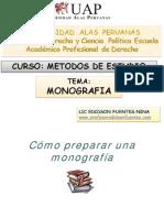12. Pasos Para Una Buena Monografia