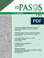 Revista Pasos 157