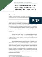 2 - Empresas Publicas Prestadoras de Servicos Publicos e o Alcance Do Direito Aos Beneficios Tributarios