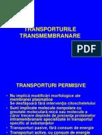 Curs Nr 2 Transporturile Transmembranare