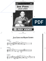 Joe Pass - REH Jazz Lines Booklet