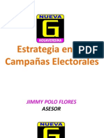 Campaas Electorales y Su Estrategia