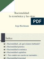 Racionalidad  Economica