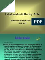 Edad media-Cultura y Arte monica 2º eso