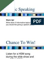15 Public Speaking