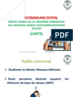 Radiocommunication Umts
