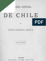 Barros Arana Prologo