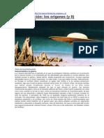 Ciencia Ficción los orígenes (y II)