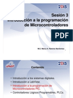 Sesión 3 Introduccion a Microcontroladores