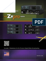 ZeeVee ZvPro Series Specifications