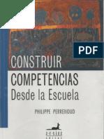 Libro Construir Competencias Desde La Escuela