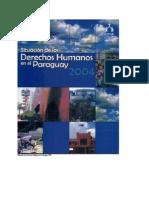 Situacion de Los DDHH en El Paraguay 2004