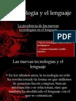 La tecnología y el lenguaje