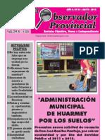 Observador Provincial - Mayo 2013