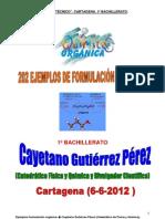 1bac Ejemplos de Formulacion y Nom q Organica