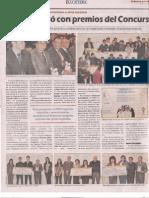 Premio Nacional Innova Bolivia 2012-2013 La Cátedra Mayo 2013 II