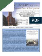 St Mary Avon June 9 Bulletin