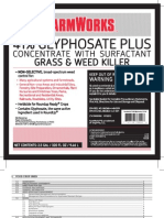 FarmWorks 41 Glyphosate Plus Concentrate