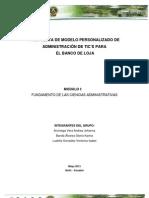 Modelo Personalizado de Administracion de Tic3