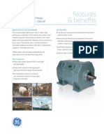 GE MD800 Armored Mill Motor