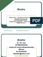9 July Mathematics