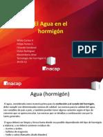Agua - Hormigon