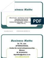 14 July Business Maths Annuity