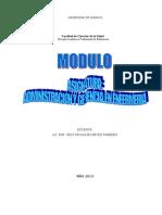 Cop Modulo Administracion y Gerencia en Enfermeria 2012