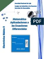 Ecuaciones Diferenciales de Primer Orden Aplicaciones