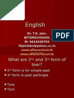 21 June English