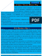 Reglamentos Interno del Centro Educativo Herminia Pérez 1