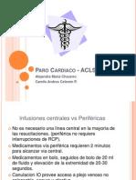 Paro Cardiaco - ACLS