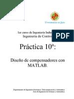 Compensadores en Mathlab