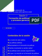 Sesion 3. Analisis de Politicas Parte 1