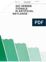 Basic Design Rationale for Artificial Wetlands