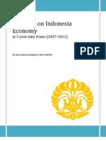 Progress on Indonesia Economy