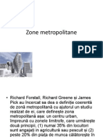 Zone Metropolitane