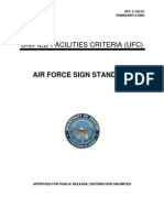 USAF Base Signs Design Guide