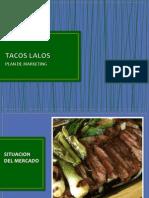 Plan de Marketing Taqueria Lalos