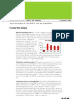 SEB Country Analysis 2008 Ethiopia